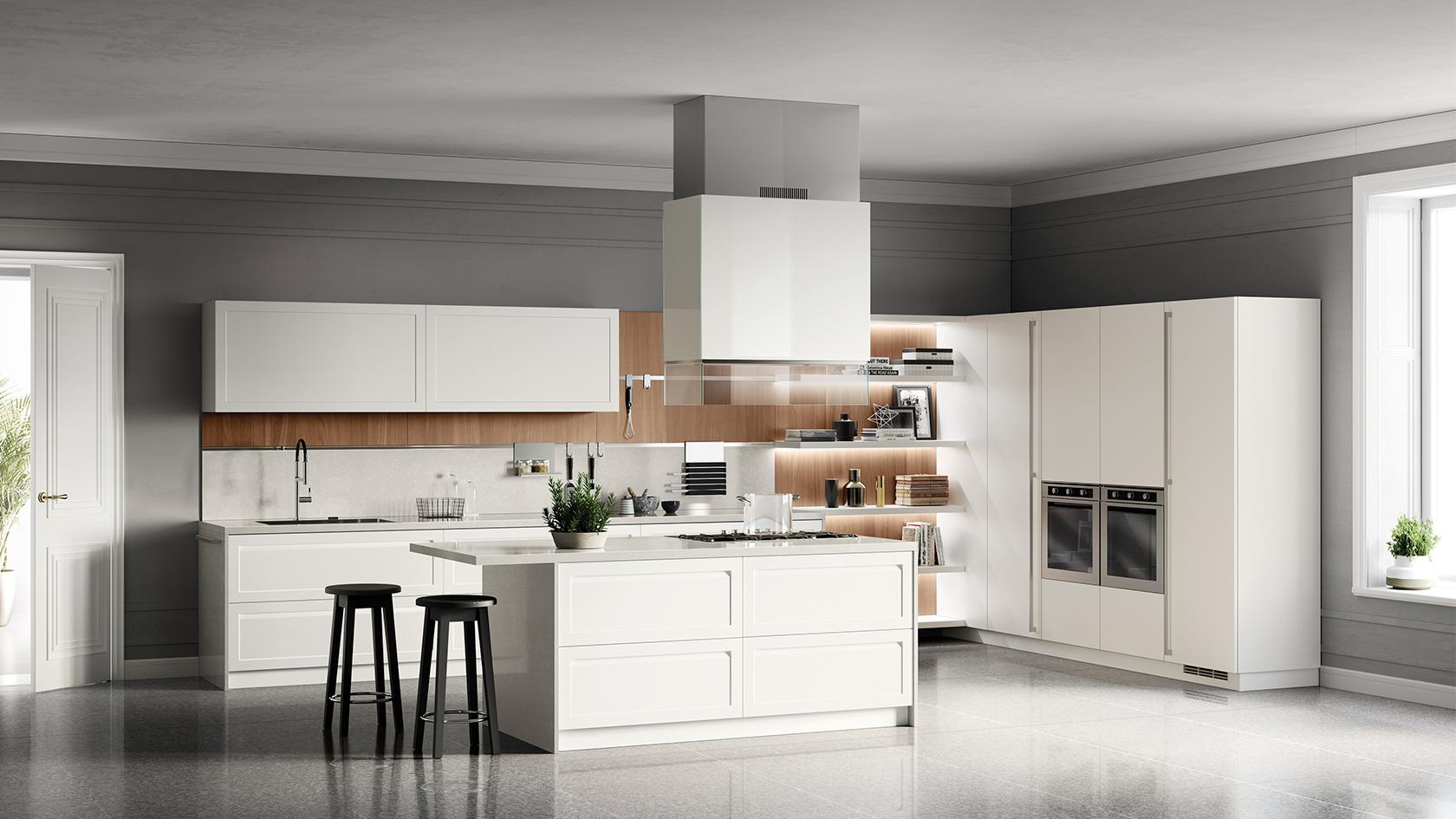 Arredamenti iacobellis laterza mobili moderni e - Ambientazioni cucine moderne ...