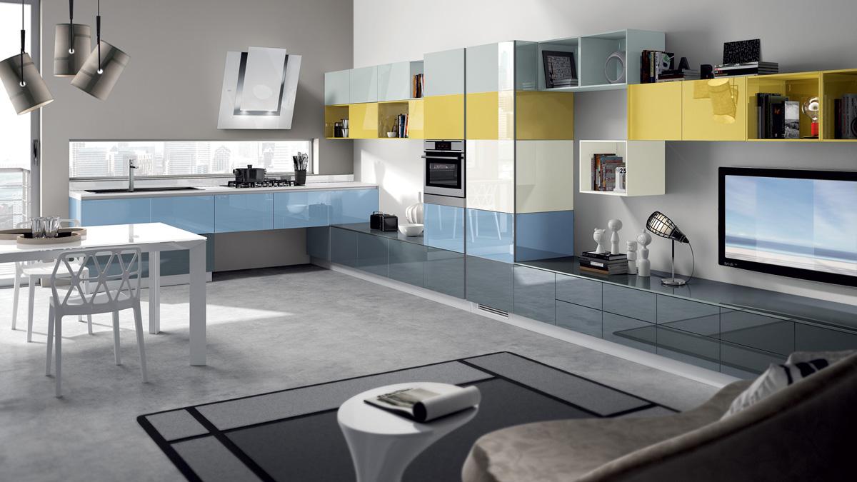Cucine Moderne Angolari : Cucine ad angolo moderne piccole. Cucine ...